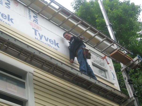 Seymour CT clapboard siding installation